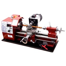 and string Miniature Buddha machine 400 Small woodworking lathe wooden beads processing