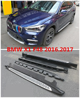 For BMW X1 F48 2016.2017 Car Running Boards Auto Side Step Bar Pedals High Quality Brand New Original Design Nerf Bars