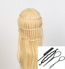 Cabello dorado Cabello Cabeza de maniquí Peluca Cabeza Peluquería Modelo en venta Peinado Formación muñeca Cosmetología Mujer Mujer Cabeza