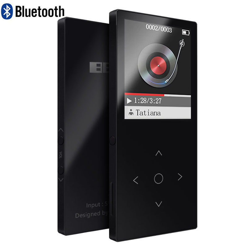 Benjie 8g Touch Keys Bluetooth Mp3 Player 8mm Thin Music Player New