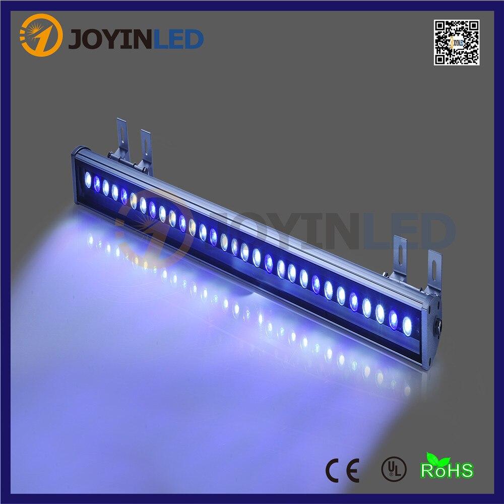 Мощный 24 Вт 30 Вт 36 Вт 62*63 водонепроницаемый наружных светодиодных наводнений света LED Wall Washer лампы Пейзаж света Теплый Холодный белый RGB