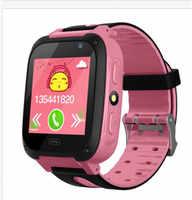 Kinder Uhr bluetooth Smart Uhr Anti-Verloren GPS Tracker SOS Alarm für Android IOS