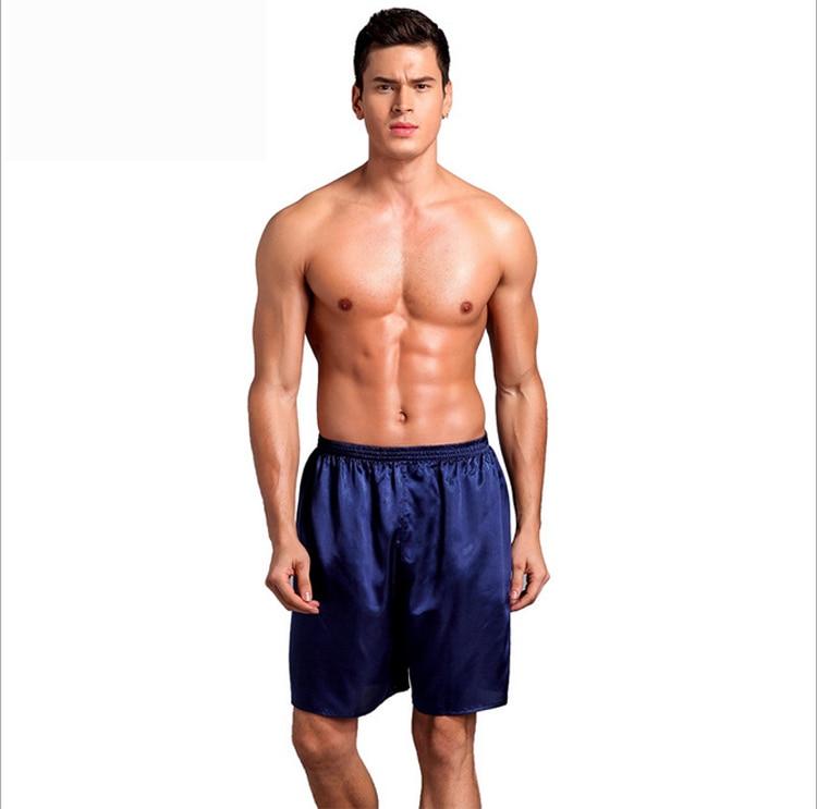 08064f4108a Best Men Sexy Silk Satin Sleep Bottoms Solid Lounge Pants Leisure Sleepwear  for Summer Reviews