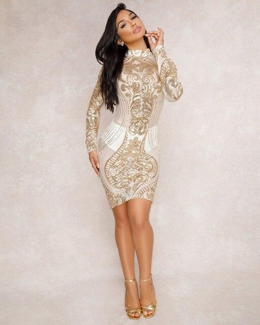 2020 Night Club Fashion Sequined Vest Skirt Bodycon