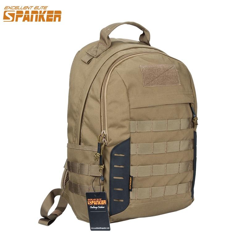 EXCELLENT ELITE SPANKER Outdoor Military Molle Backpack Tactical Army Men Travel Nylon Bag Military Backpacks Hiking Bag