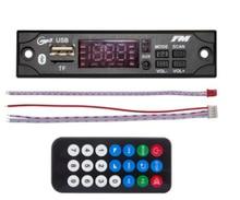 2019 MP3 wma デコーダボード MP3 プレーヤーカーオーディオの usb tf fm ラジオモジュールワイヤレス bluetooth 5 v 12 v 車用リモコン