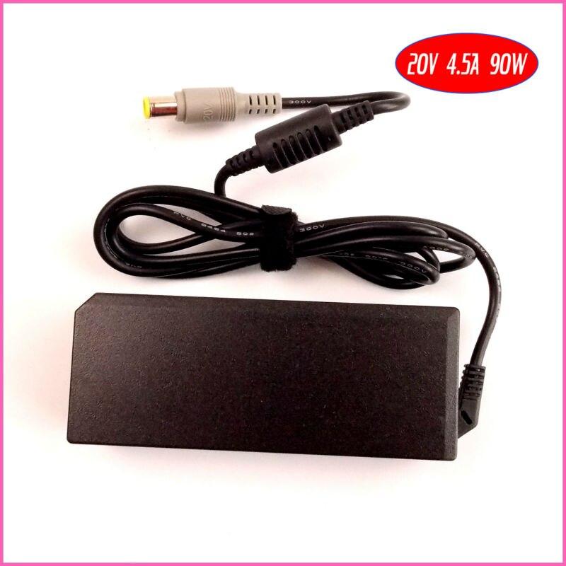 20V 4.5A 90W ноутбук адаптер переменного тока зарядное устройство для IBM/lenovo/Thinkpad 45N0121 2T5282 PA-1650-161 2352-CTO 239242U i5-3320M