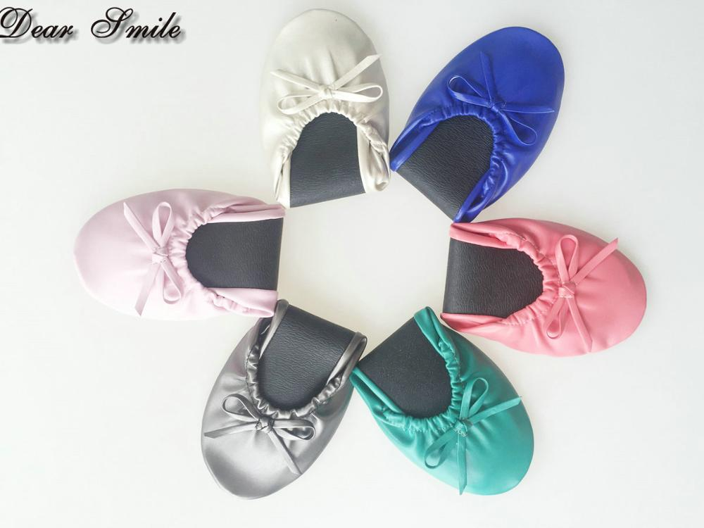 Free shipping Popular colorful ladies flat shoes soft flat wedding shoes for dance big sizes