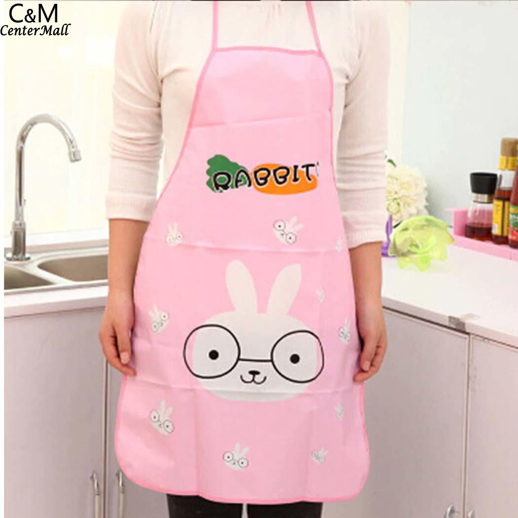 Provided Geometric As Picture Cartoon Pattern 40g Bib Kitchen Animal Cute Cooking Women Aprons Waterproof Electronic Components & Supplies Home Decor