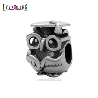 Graduation Study Owl Animal 100 925 Sterling Silver Charm Beads Fits Pandora European Charms Bracelet S2