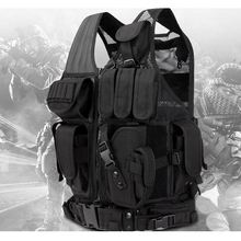 цена на Airsoft Sport Paintball Outdoor Sport Tactical Vests Military Army Training Vest Shooting Hunting Combat Gear Colete Tatico