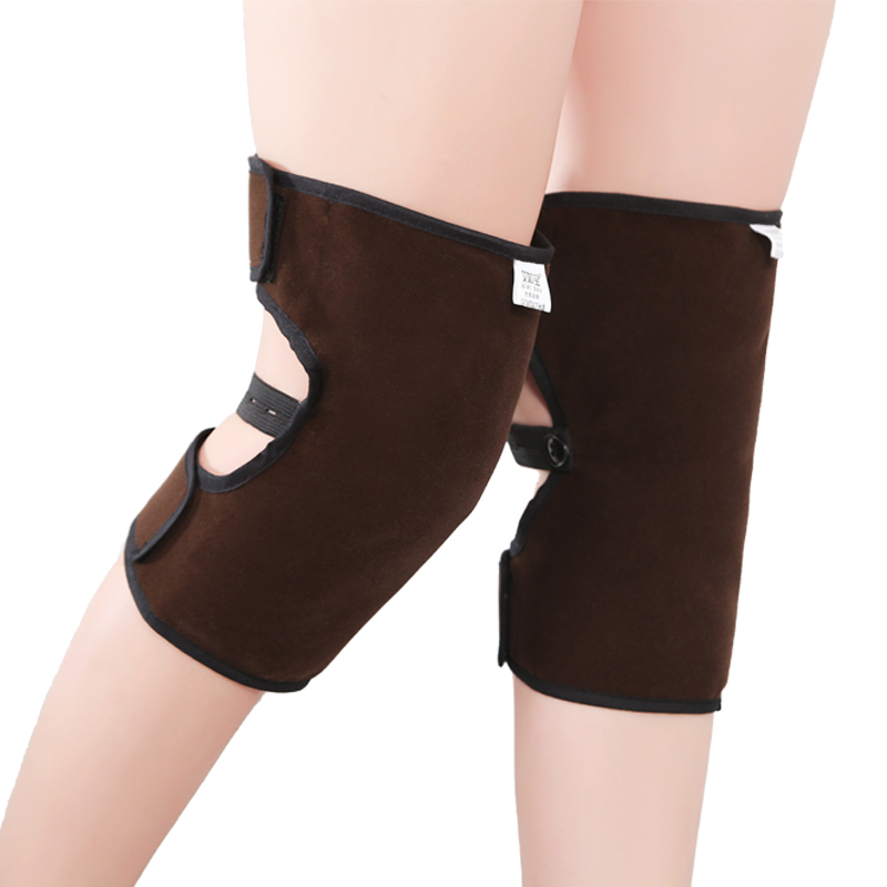 Moxa knee Warm old cold legs Male and female common In the elderly joint cold cold moxa warm inflammation knee adjustable knee joint meniscus knee rehabilitation equipment maintenance men and women with a fixed fractures knee ligament reco