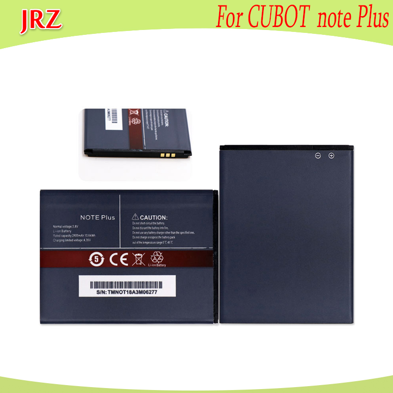 JRZ LOT=10PC 3.8V 2800mAh battery For CUBOT note Plus phone Replacement Batteries BateriaJRZ LOT=10PC 3.8V 2800mAh battery For CUBOT note Plus phone Replacement Batteries Bateria