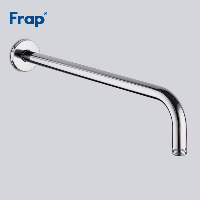 Frap High Quality Chrome Shower Arm  Bathroom Hardware Modern Brass Material Wall-mounted Fixed Arm Shower Head Y81016/18/20/21