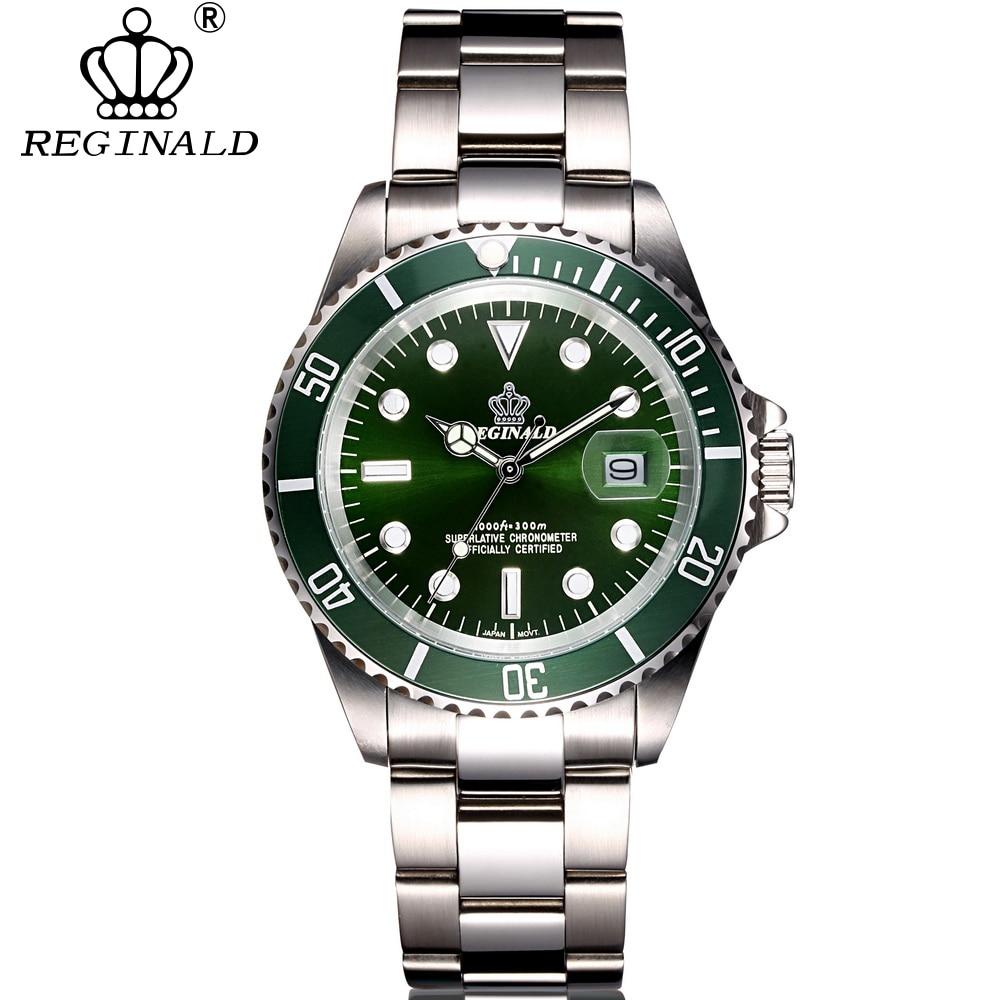 relogio masculino REGINALD luxe merk duiken sport polshorloge Display - Herenhorloges