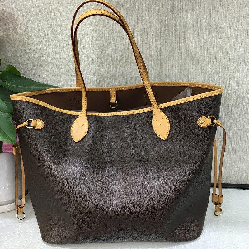 Роскошные сумки женские сумки дизайнерские сумки для покупок высокое качество Neverful Сумка Женская Роскошная брендовая сумка на плечо разме