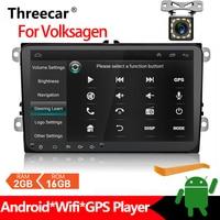 2 Din Android 8.1 Car Multimedia For Amarok Volksagen VW Passat B6 golf 56 Skoda Octavia 2 Superb 2 Seat Leon Navigation 2+16G