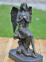 statue decoration crafts jewelry Home Furnishing Angel bless birthday gifts housewarming marriage feng shui ornaments