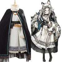 Game Arknights Cosplay Hatsuyuki Costume Dress Uniform Full Set Adult Girls Women Halloween Carnival Costume Custom