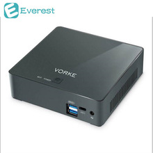 Vorke V2 ультра компактный ПК Ubuntu 16.04 Intel Skylake I7-6500U 8 г DDR3L 256 г SSD AC WI-FI Gigabit LAN HDMI USB 3.1 Тип c