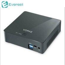 VORKE V2 Ultra Compact PC Ubuntu 16.04 Intel Skylake I7-6500U 8G DDR3L 256G SSD AC WIFI Gigabit LAN HDMI USB 3.1 Type C