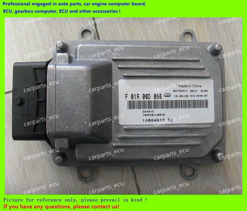For JAC Tojoy car engine computer board/M7 ECU/Electronic Control Unit/Car PC/F01R00D056 1026301U8010 DA4G13/F01RB0D056