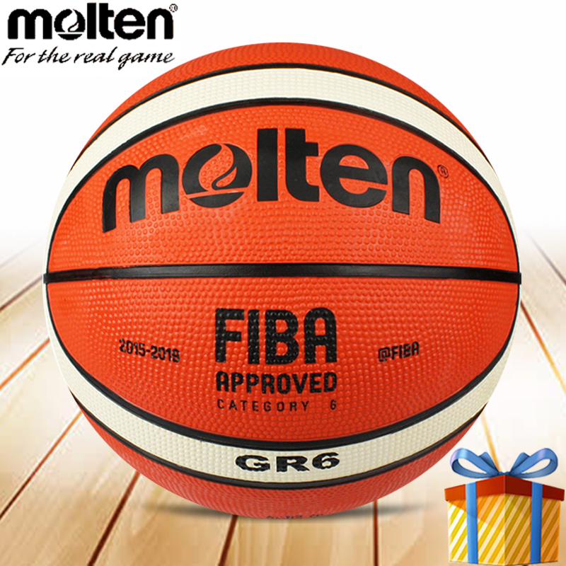 Molten Basketball Ball Size 6 Man Woman GR6 Training Professional Games Street Basquete Ballls Baloncesto