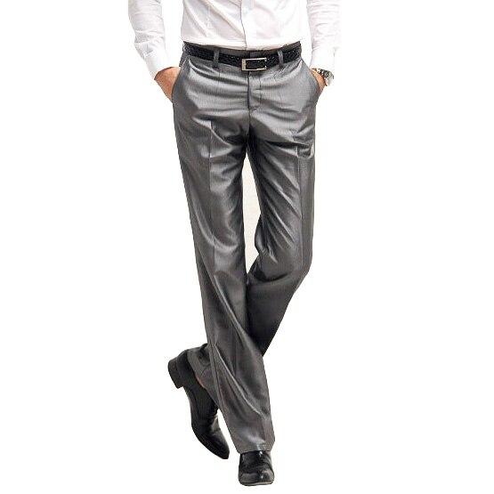2018 Neue Ankunft Anzug Hose Männer Formelle Hosen Männlichen Slim Fit Kleid Hose Herren Mode Maß Business Blazer Hosen Spezieller Sommer Sale