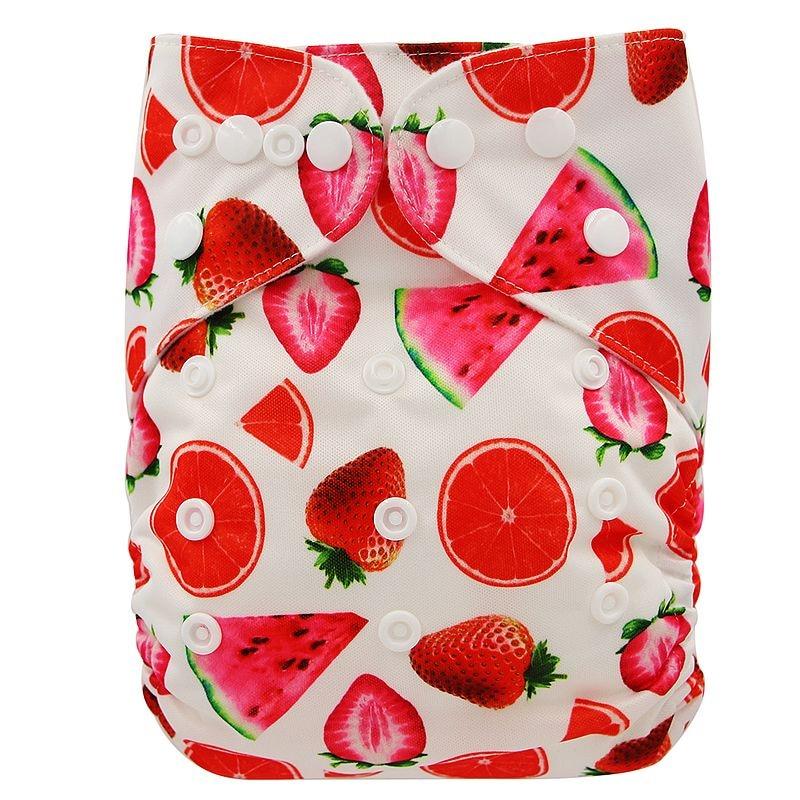 Ohbabyka, детские тканевые подгузники, многоразовые подгузники, унисекс, детские штаны для ухода за ребенком, водонепроницаемые тканевые подгузники с карманами, детские подарки для душа - Цвет: OB181
