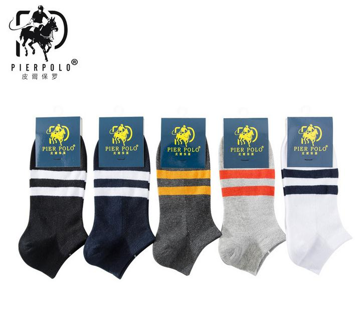 2018 New fashion Casual Socks 5 Pairs/lot for Spring And Summer Models Mens Cotton Ankle Socks Shallow Mouth Mesh sock men
