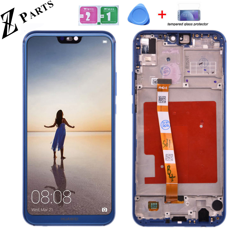 HUAWEI Screen Assembly Lcd-Display Nova 3e P20-Lite Original Digitizer for Pannel Ane-Lx1/ane-Lx3