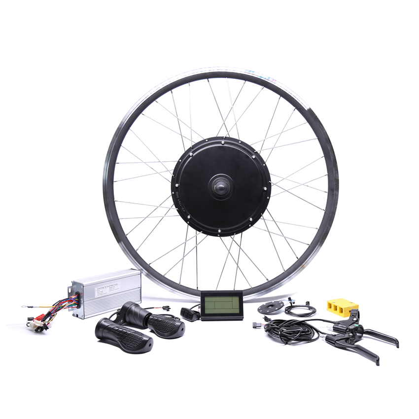 2017 Rushed Sale Free Shipping 48v 1500w Rear Motor Bicicleta Electric Bicycle Ebike Conversion Kits For 20''26''28''700c Wheel pasion e bike 48v 1500w motor bicicleta electric bicycle ebike conversion kits for 20 24 26 700c 28 29 rear wheel