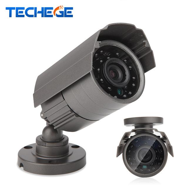 Techege 1280*720 xm310 + h42 ahd câmera de cctv 1000tvl ip66 rede 1.0mp hd à prova d' água câmera dia/nignt visão cut ir filtro