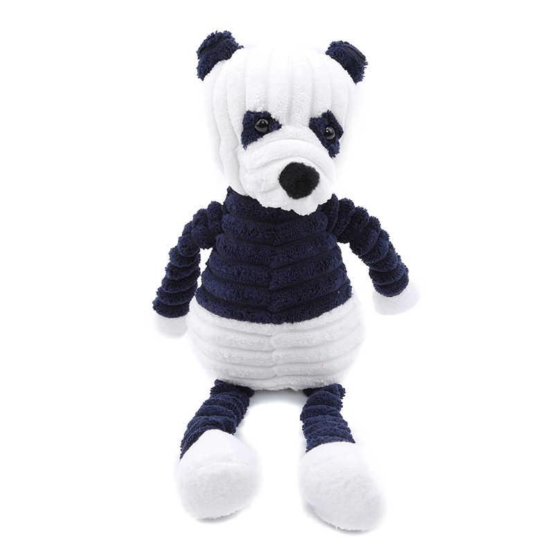 Baby Elephant Lion Fuchs Kaninchen Schwein Panda Ente Affe Weiche Stofftiere Niedlich Torest Tier Plüsch Spielzeug Für Kinder Streifen