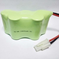 UNITEK Ni MH 6V C SIZE Rechargeable Battery Pack 4000MAH For Four Wheel Positioning Device For