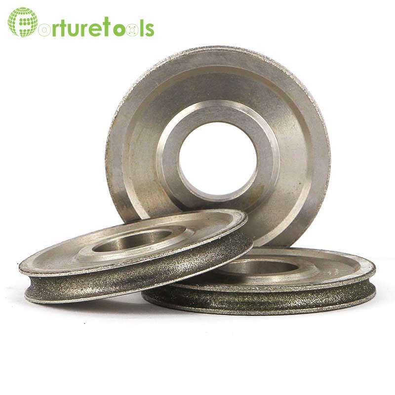 1 pièce Meule abrasive électrolytique revêtue de diamant de bord - Outils abrasifs - Photo 5