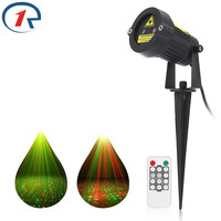 ZjRight Premium Christmas Laser Spotlight Light Star Projector Showers Outdoor Garden Remote Controller Decorate Waterproof IP65