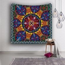 India mandala tapestry datura wall hanging blanket boho tapiz pared tela Bohemian Beach Towel yoga mat exotic carpet