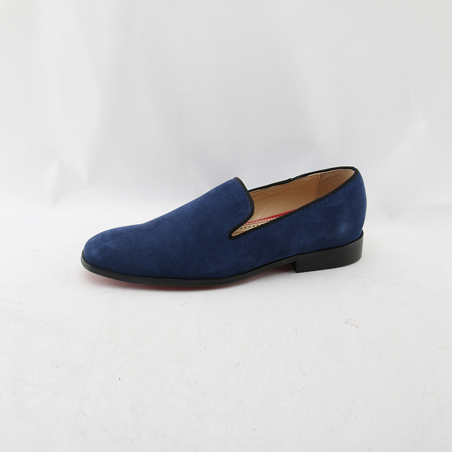 OKHOTCN Suede Loafers ritish Style Fashion Suede PU Leather Men Loafers Slip on Men Driving Shoes Male Boat Flats Men moccasins