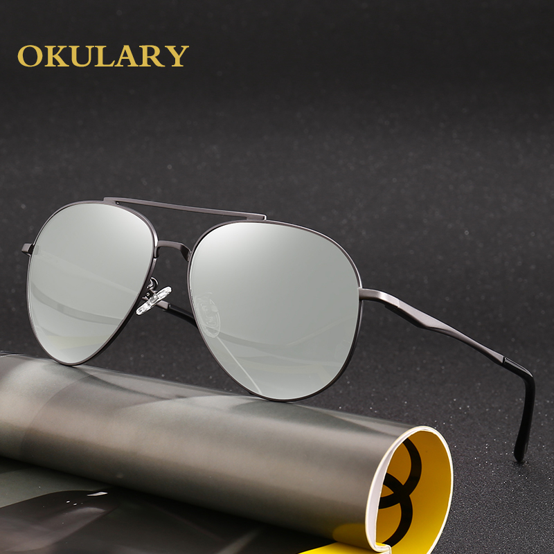 Men Polarized Sunglasses Black Brown Metal Frame UV400 High Quanlity Goggle Driving Glasses Come With Box