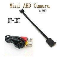 Güvenlik ve Koruma'ten Gözetim Kameraları'de 1.3MP Mini AHD Kamera Mikro Ses Kamera AHD/TVI/CVI/CVBS 4 IN 1 UTC AHD DVR Kitleri Mikro güvenlik kamerası Güvenlik Sistemi