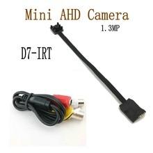 1.3MP Mini AHD Camera Micro Audio Camera AHD/TVI/CVI/CVBS 4 IN 1 UTC for AHD DVR Kits Micro CCTV Camera Security System