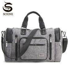 Купить с кэшбэком New Mens Travel Bags Waterproof Nylon High Capacity Travel Duffel Bags Luggage Handbag for Men Male Casual Shoulder Bag Tote