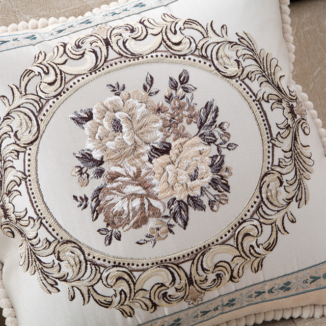 Luxury Jacquard Cushion Cover