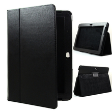 Tablet pu leather case cover para samsung galaxy tab 2 10.1 p5100 p5110 p5113 gt-p5100 soporte shell protector de lujo