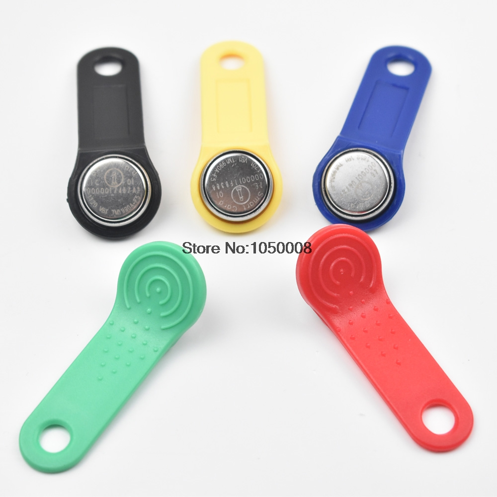 10pcs Dallas DS1990A DS1990A-F5 IButton I-Button 1990a-F5 Electronic Key IB Tag Cards Fobs TM Cards