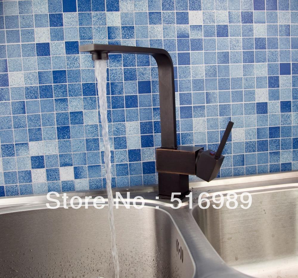 New Antique Style Oil Rubbed Bronze Kitchen Bathroom Bar Vessel Sink Tap Faucet hejia108
