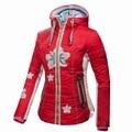 2016 Women TWO SIDE Winter Ski and Snowboard jacket skiing jacket  Ski jacket DOWN jacket  FREE GIFT one ski hat 1504