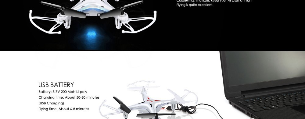 10 2015 New Arrival Syma X13 RC Mini Drone Helicopter  2.4G 4CH 6-Axis Quadcopter With 3D Flips Remote Control Toy