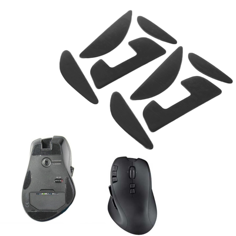 2 Sets Mouse Skatez / Mouse <font><b>Feet</b></font> Mice Pad For Logitech <font><b>G700</b></font> G700S Laser Mouse High Quality image